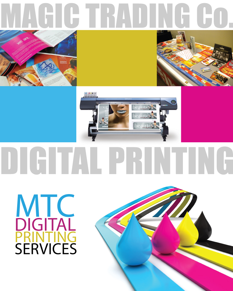 Digital Printing Services : Digital full color printing services