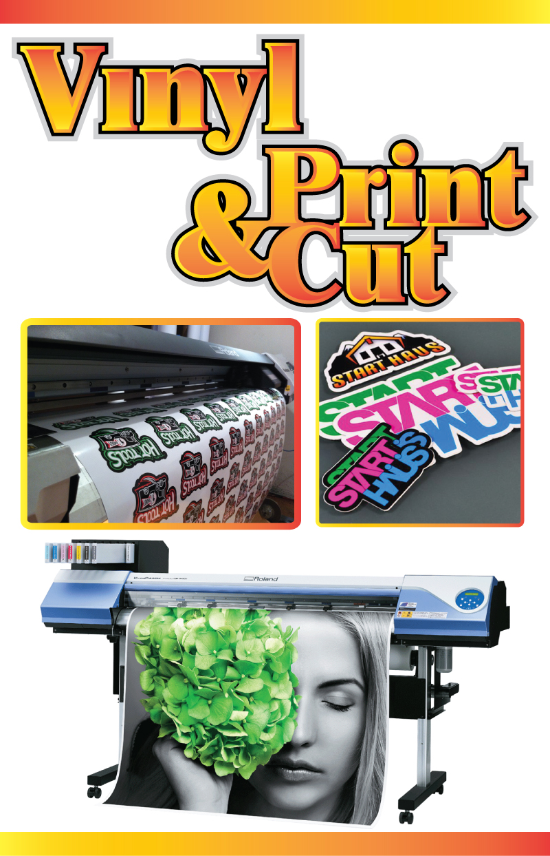 Vinyl Printing and Cutting Services