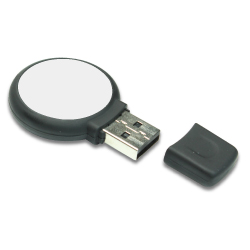 Round Shape USB with Logo Branding