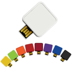 Twister USB Drives Square Shape