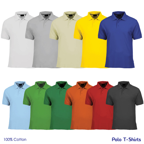 Promotional cotton polo t shirts at best prices in uae for Branded polo t shirts