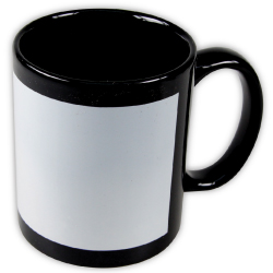 Promotional Coffee Mugs in Black Color