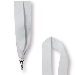 Medal Ribbon in White Color