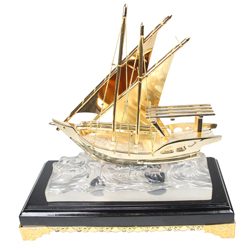 Boat Shape Memento Trophy Awards
