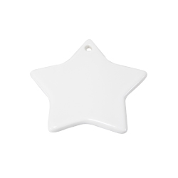 Stars Shape Ceramic Ornaments