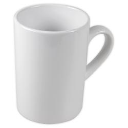 Photo Mugs Curled Rim White 155