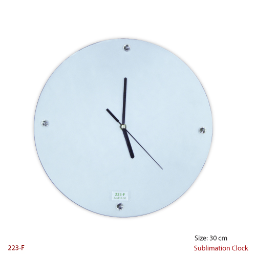 Wall Clock in Crystal
