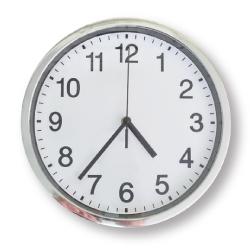 Analog Wall Clocks 591-SS