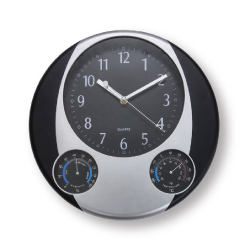 Round Wall Clock with Logo CLK-01