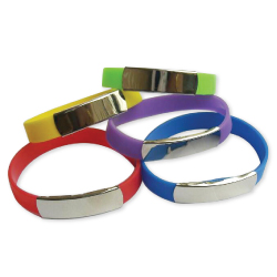 Wristbands with Metal Part