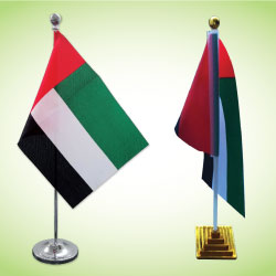 UAE Flag Table Stand