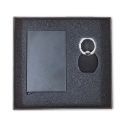 Gift Set Business Card Holder with Phone Ring