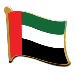 UAE Flag Pins
