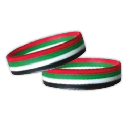 Wristband UAE Flag Colors