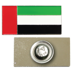 UAE Flag Metal Badges with Magnet