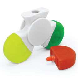 Spinner with 3 Colors Highlighter