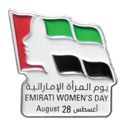 Emirati Womens Day Metal Badges