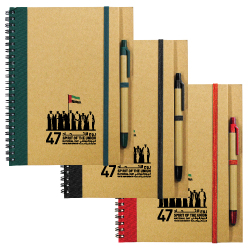 National Day Recycled Notebooks