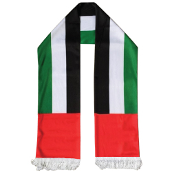 UAE Flag Scarf SC-05 For UAE National Day