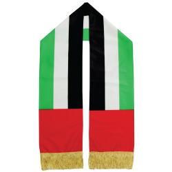 UAE Flag Scarf SC-06