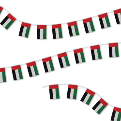 UAE 32pcs String Flag for National Day