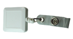 Badge Reels 126 White