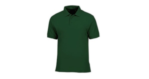 Cotton Polo T-shirt - Green Color