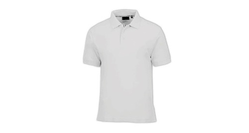 Cotton  Polo T-shirt - White Color
