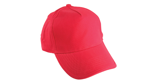 Cotton Cap - Red Solid Color - 311